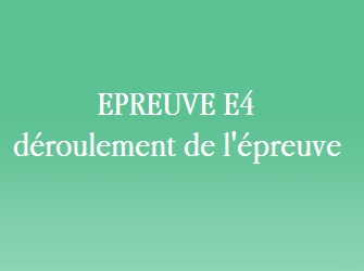 epreuve e4 oral communication commerciale